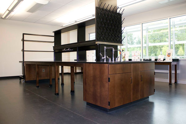 Inside a lab